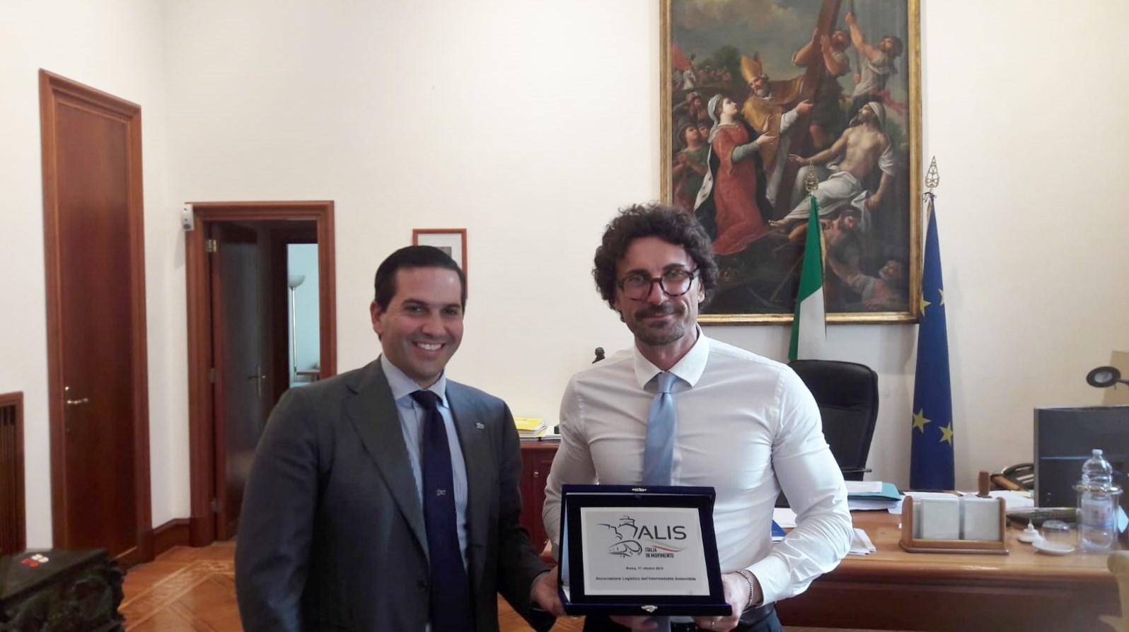 ALIS dal Ministro Danilo Toninelli