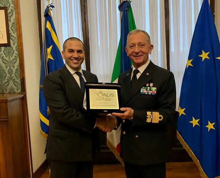 ALIS incontra l'Ammiraglio di Squadra Valter Girardelli