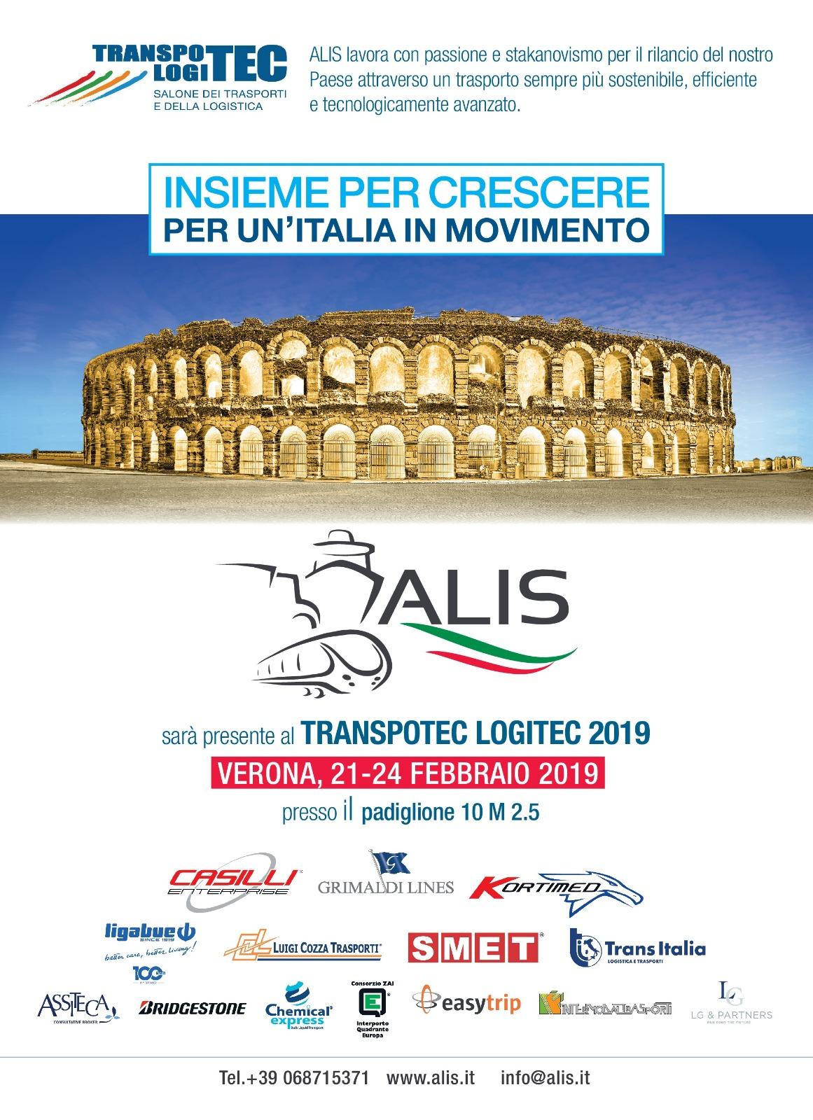 Transpotec Verona: conferenze ALIS giovedì 21 febbraio
