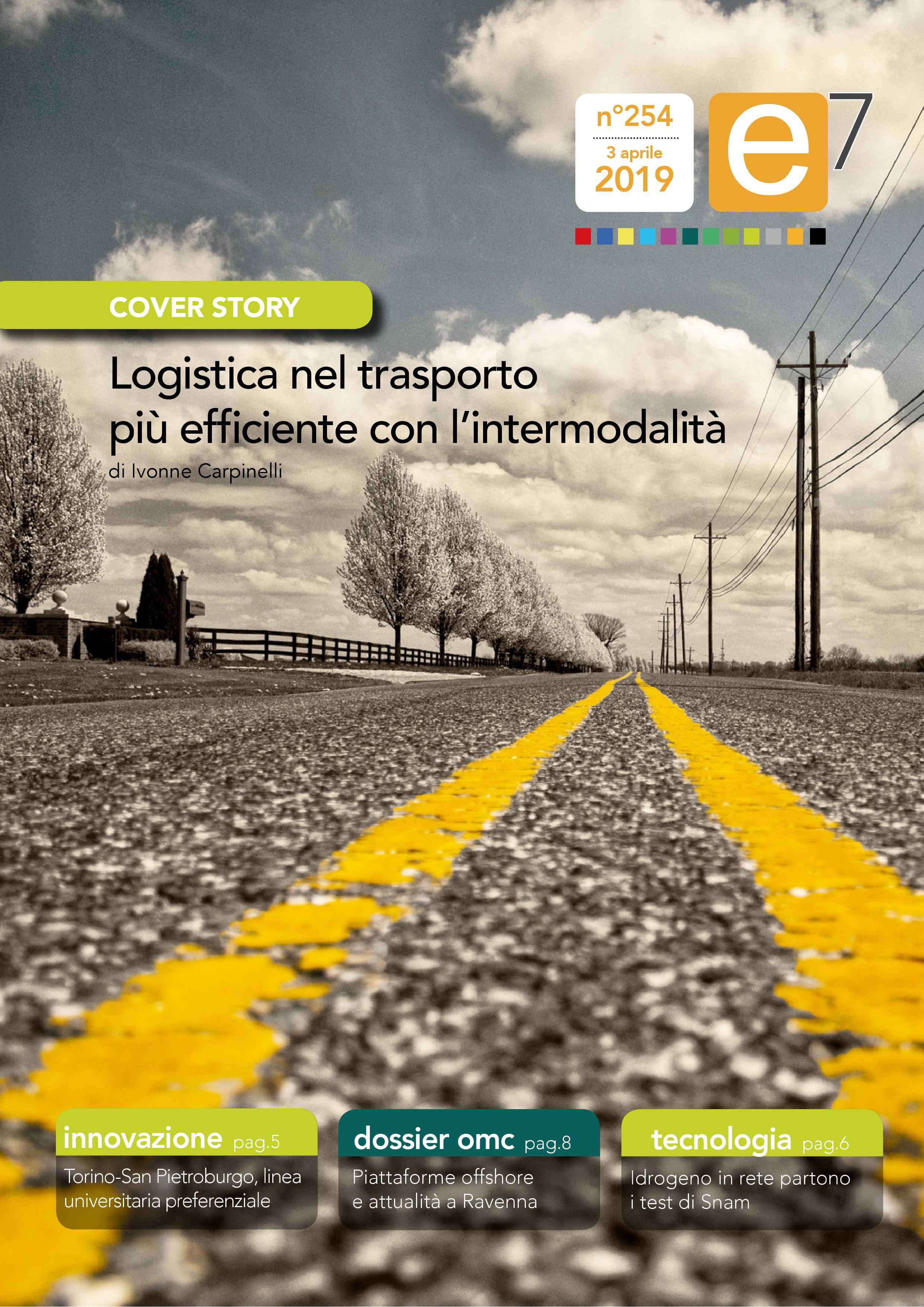 Logistica nel trasporto più efficiente con l'intermodalità