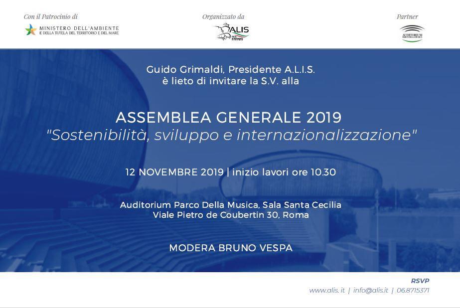L'Assemblea Generale di ALIS 2019: sostenibilità, sviluppo e internazionalizzazione